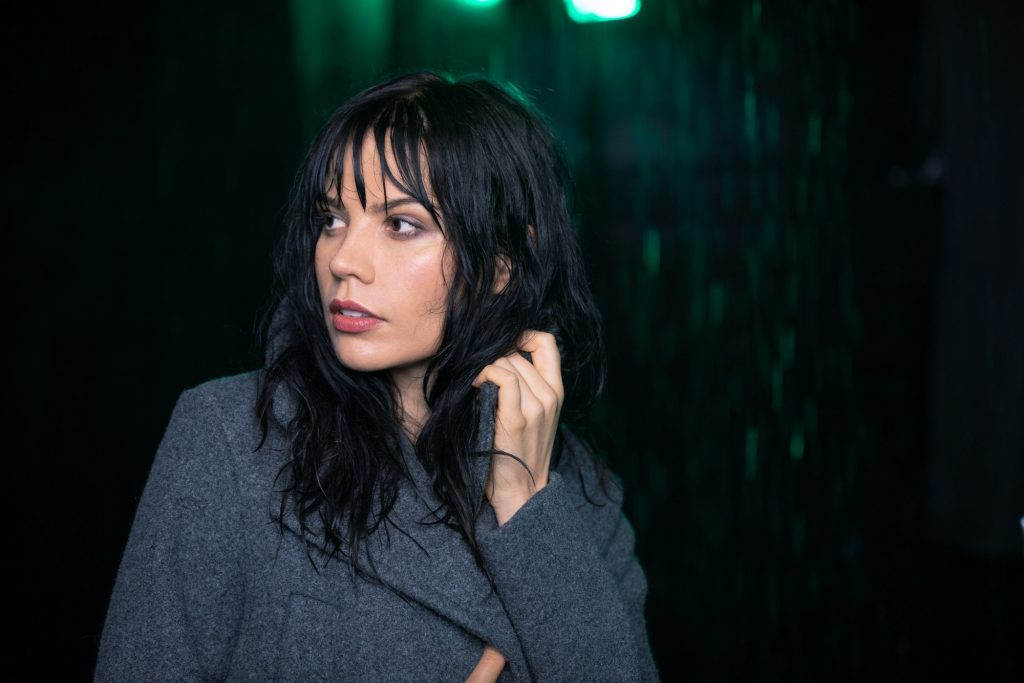 rei kennex rain photo portrait