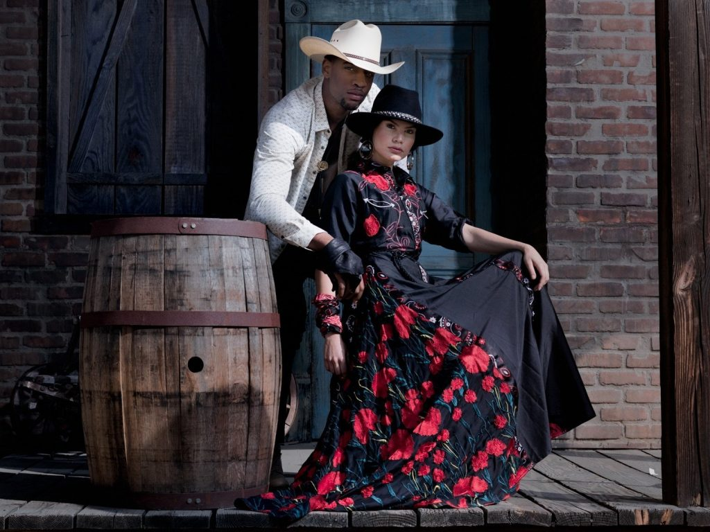rei kennex editorial photo fashion magazine western