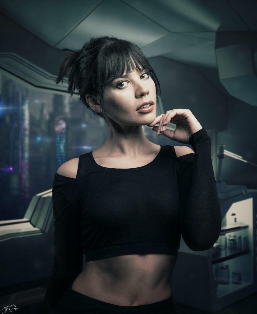 Joi blade runner 2049 cyberpunk rei kennex