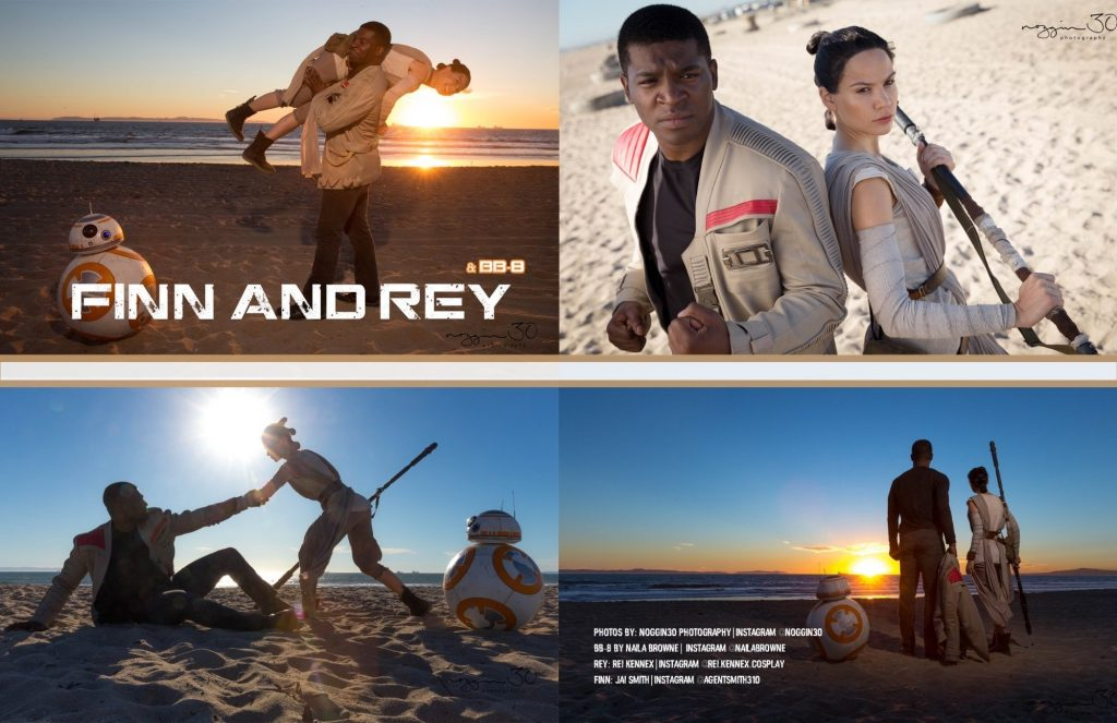 Rey Finn Star Wars Rei Kennex