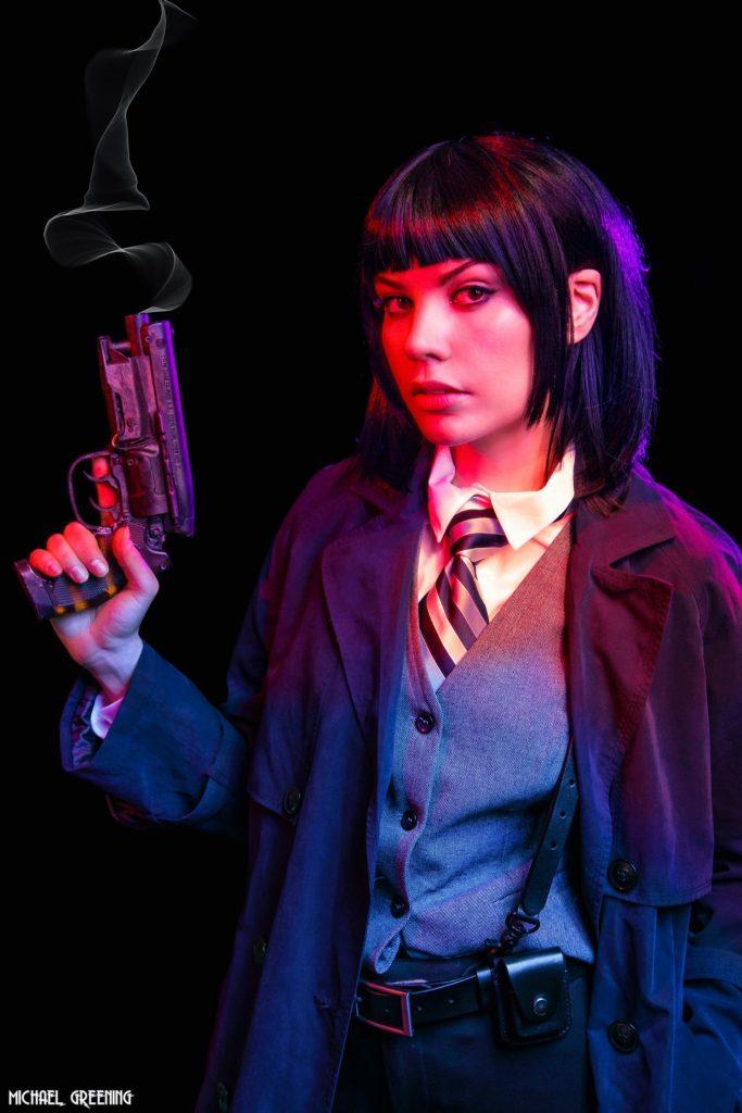 Ash Blade Runner cyberpunk Rei Kennex