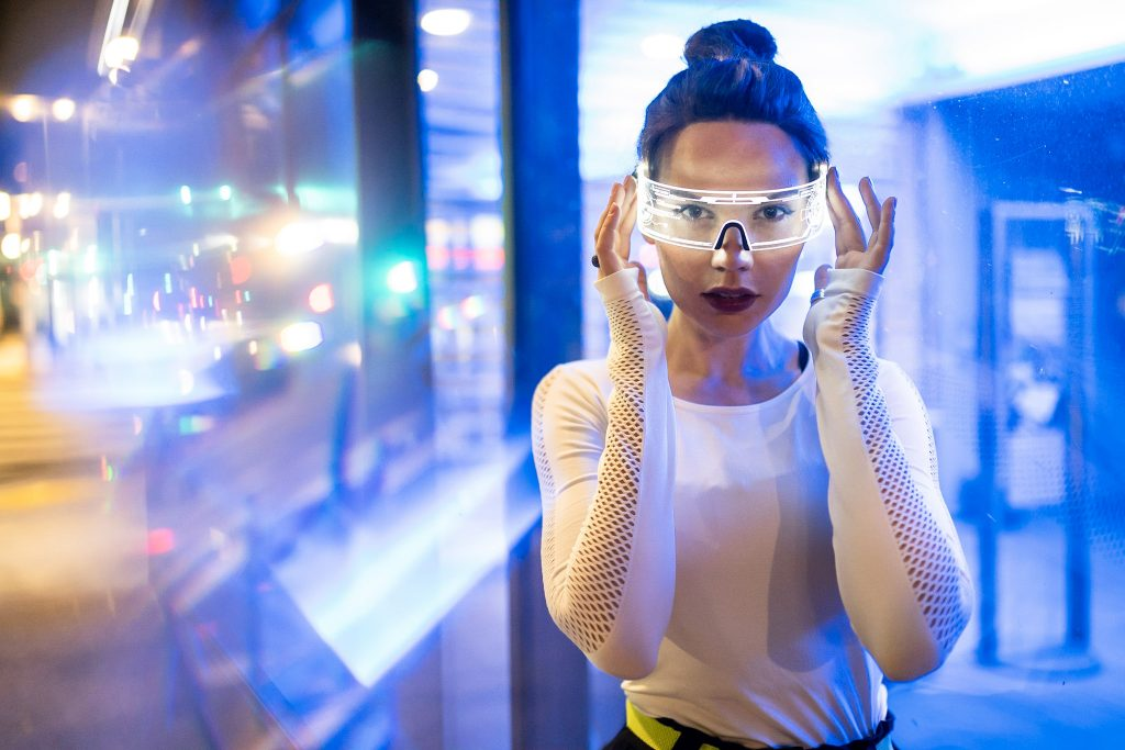 rei kennex lifestyle fashion editorial cyberpunk