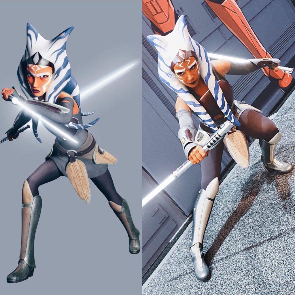 Ahsoka Tano live action Star Wars Rebels Rei Kennex